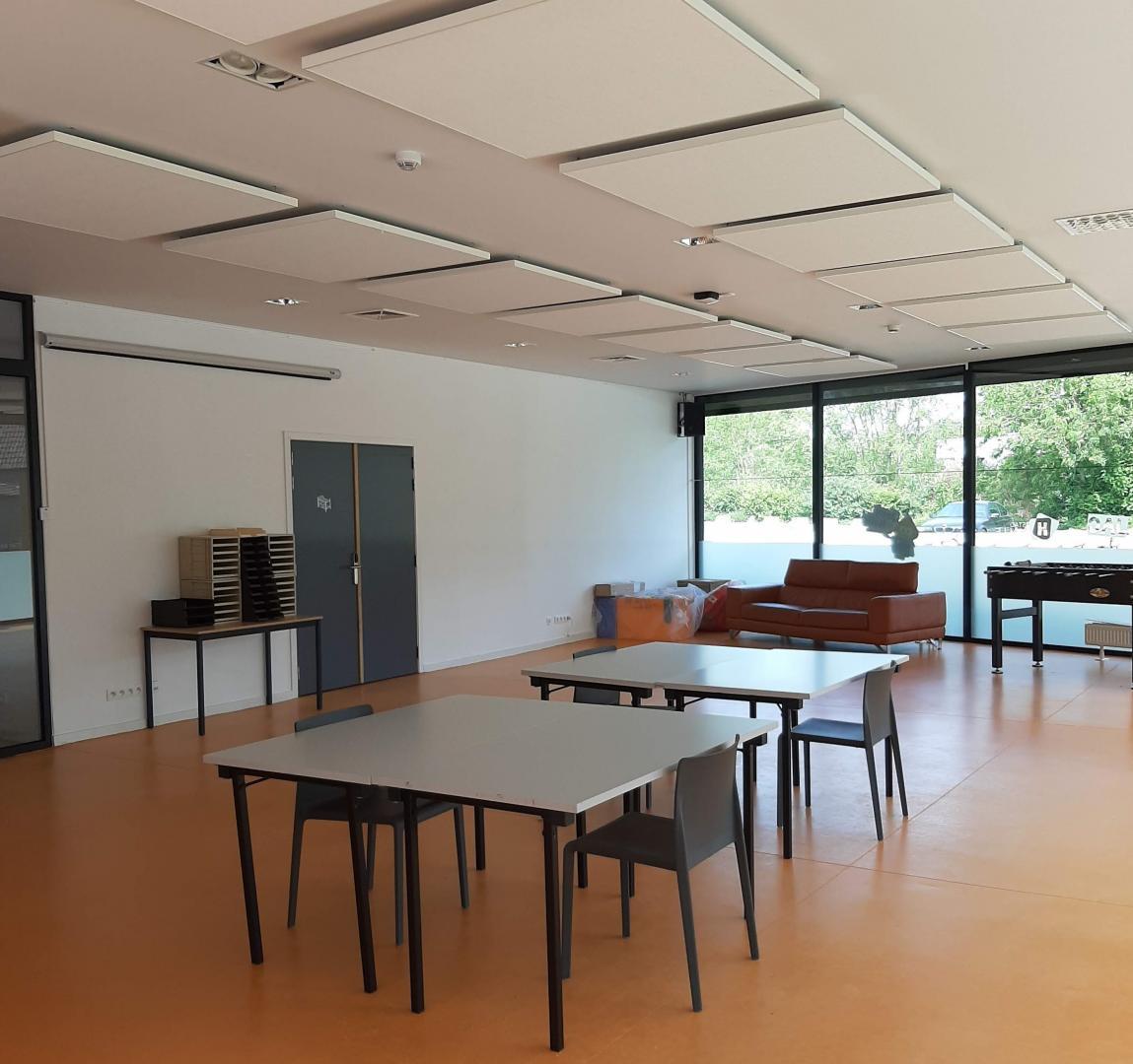 Ik wil de fuifzaal / ontmoetingsruimte van JC De Kazerne