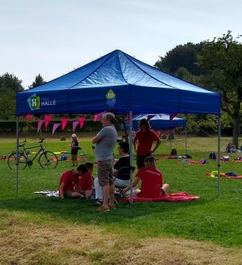 Set-up tent